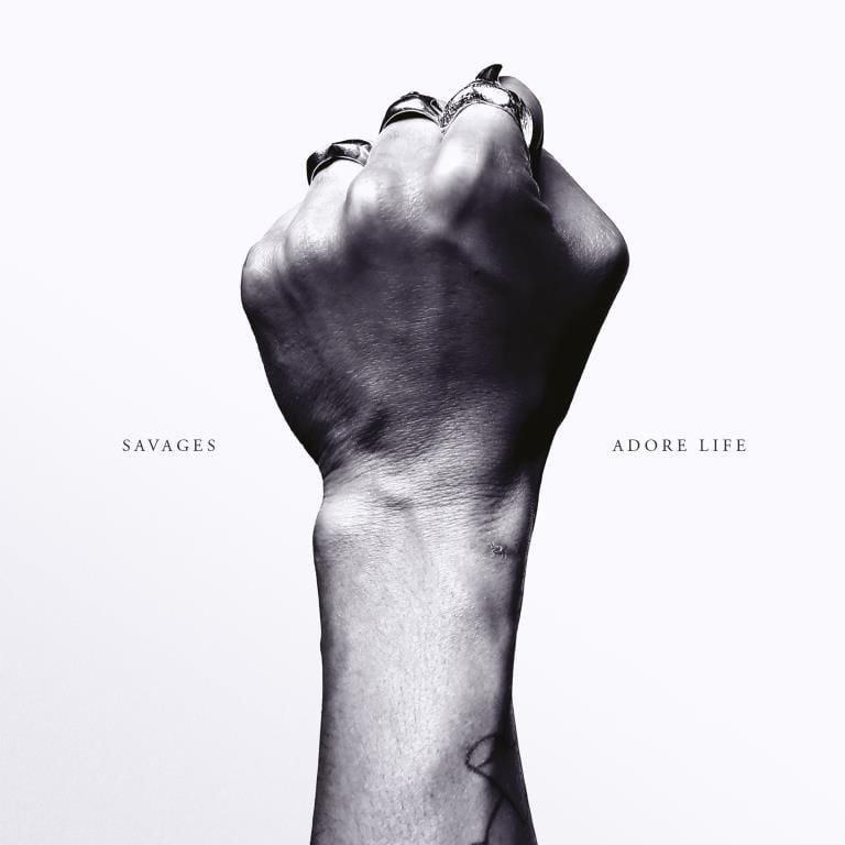 savages, adore life, cover